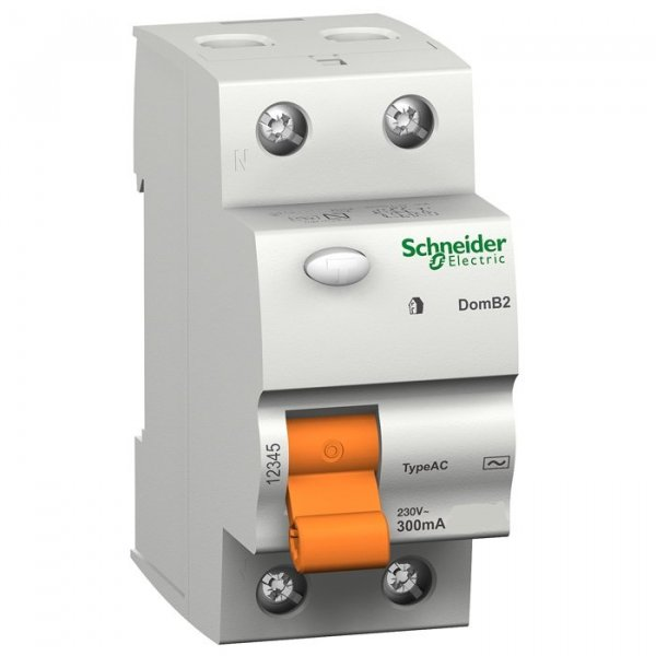 Diferencial schneider electric 25a 30ma domae 15244 for Diferencial rearmable schneider