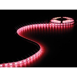 Tira de LED 5 Metros Flexible Rojo, 24W SMD3528 (300 LEDS) IP67