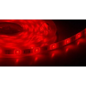 Tira de LED 5 Metros Flexible Rojo, 72W SMD5050 (300 LEDS) IP65