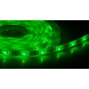 Tira de LED 5 Metros Flexible Verde, 72W SMD5050 (300 LEDS) IP65