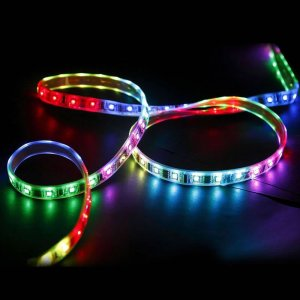 Tira de LED 5 Metros Flexible RGB, 72W SMD5050 (300 LEDS) IP65
