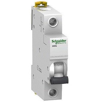 Schneider Electric A9K17106 Interruptor Autom/ático Magnetot/érmico Ik60N 1P 6A C