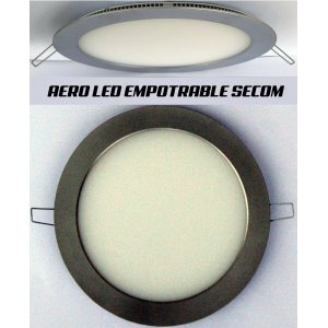 Downlight Aero LED Cromo Mate Circular 15W SECOM 4220 52 84