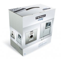 KIT Videoportero CITY VDS Color 1 Vivienda FERMAX 4961