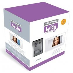 KIT Videoportero WAY 1 Vivienda FERMAX 1401