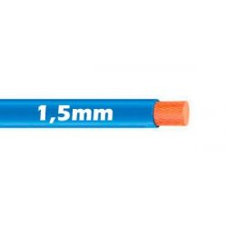 Cable Flexible 1.5mm Azul al corte
