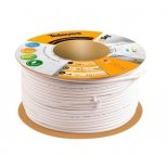 Cable Coaxial Blanco T100 PLUS TELEVES 214101 (Rollo de 100 Metros)