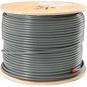 Cable UTP CAT 6 Normal Gris (Rollo de 305 Metros)