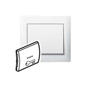 "Tecla luminosa con relieve ""Llave"" Legrand Galea Life 771011"