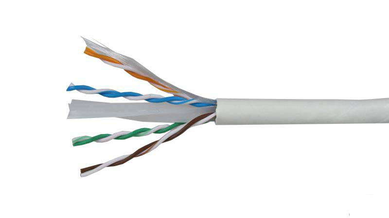cable utp blanco