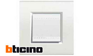 Interruptor bticino livinglight blanco